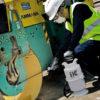 Nettoyage engins bâtiment pulvérisateur IK 6L