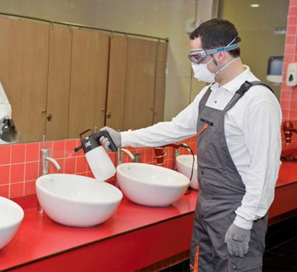 Nettoyage sanitaires IK 1.5l joints viton