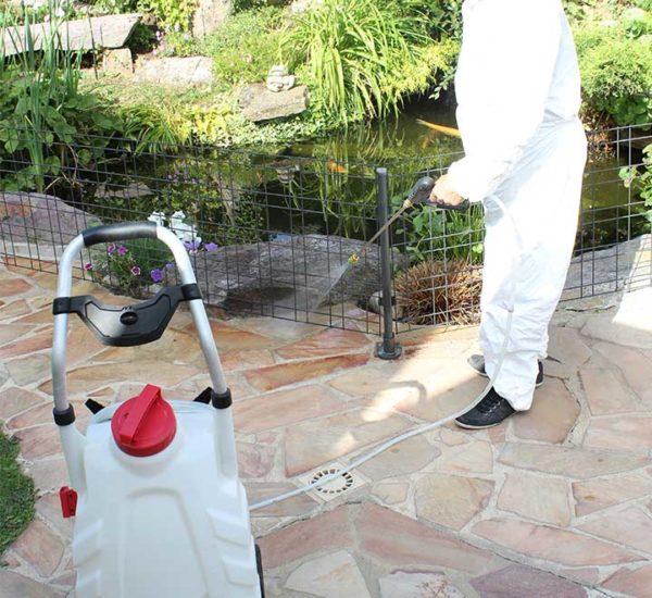 Nettoyage terrasse pulvérisateur Pro Sprayer