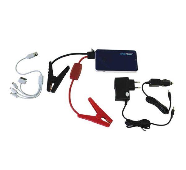 Batterie Mini Booster multifonctions - Démarreur voitures + chargeur