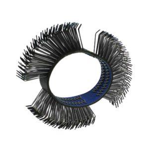 Brosse courbée inox Brosseuses pneumatiques