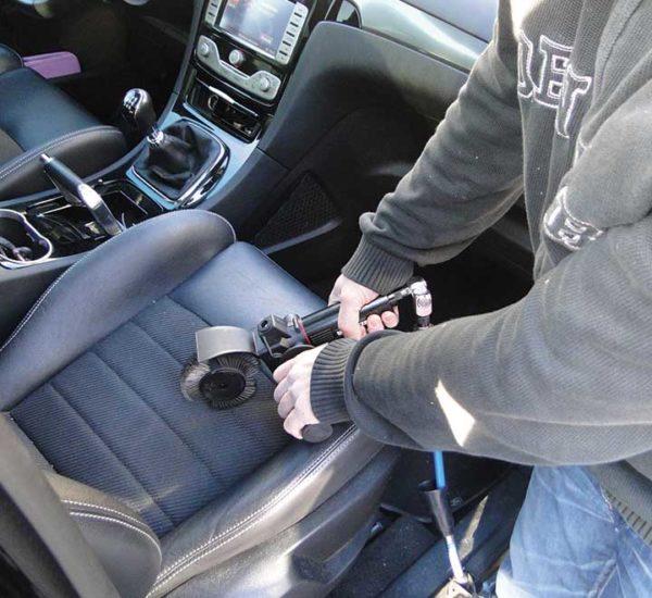 Nettoyage sièges auto - Brosseuse pro