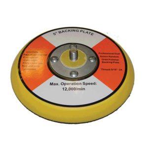 Plateau Porte Velcro diamètre 120mm pour polisseuses roto-orbitales