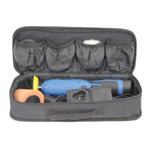 Polisseuse à batterie rechargeable - Saccoche tissu