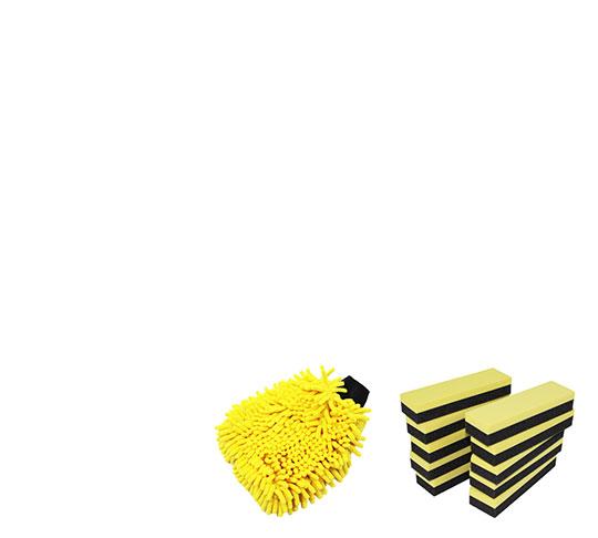 Gamme gants & éponges 4B DISTRIB