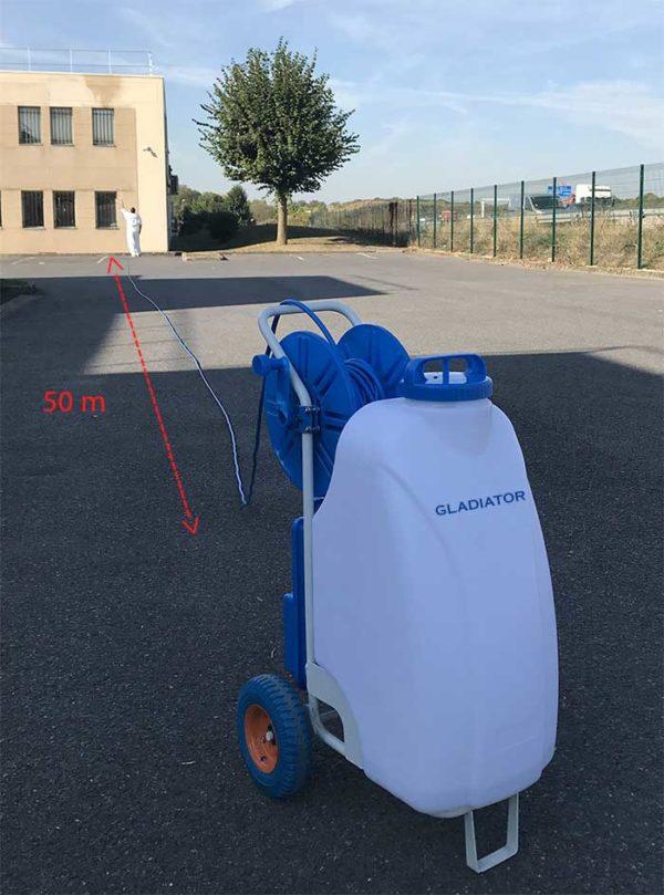 Distance 50m pulvérisateur Gladiator Sprayer